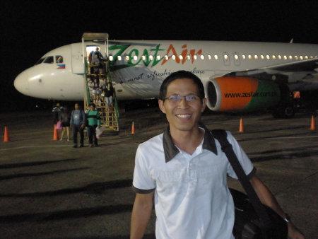 International travel agent